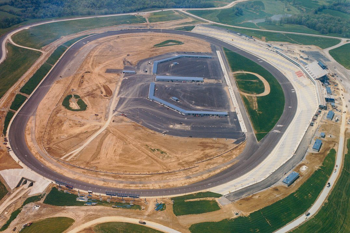 Kentucky Speedway - Buildings only